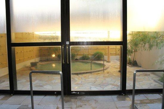 Nikko station hotel classic: Hot Spring - piscina externa