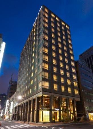 Solaria nishitetsu hotel Ginza: 外観(夜)
