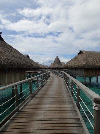 "Sofitel Moorea Ia Ora Beach Resort : the ""hallway"""