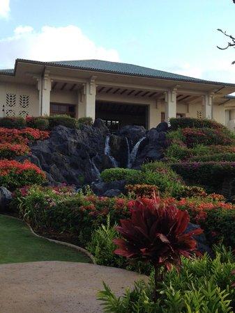 Grand Hyatt Kauai Resort & Spa: beautiful landscaping
