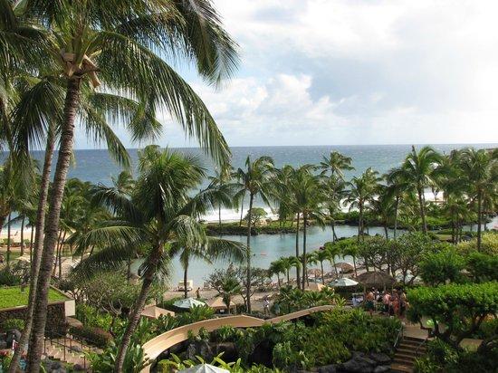 Grand Hyatt Kauai Resort & Spa: ocean view