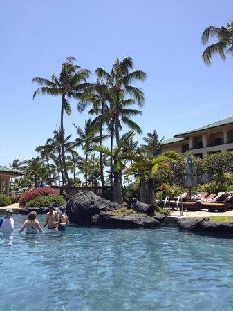 Grand Hyatt Kauai Resort & Spa: poolside