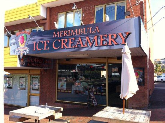Merimbula Ice Creamery: Also the best double shot flat white coffee!!