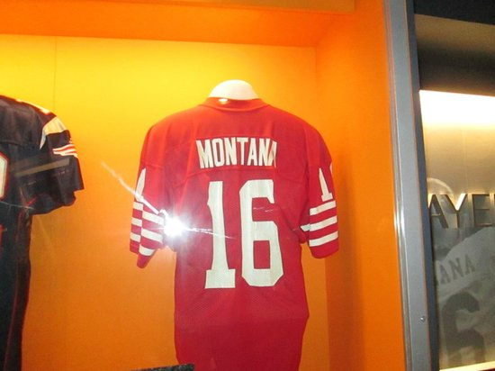 7cd5c27aec5 Pro Football Hall of Fame  Joe Montana Jersey
