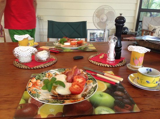 Blackwattle Farm Bed And Breakfast: Delicious breakfast