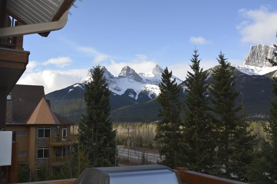 Falcon Crest Lodge by CLIQUE: View from the deck
