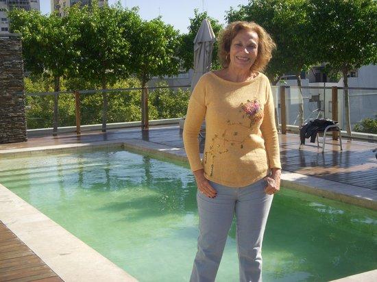 Aspen Square : La piscina, chiquita pero bonita.