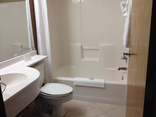 Microtel Inn by Wyndham Beckley: Bathroom