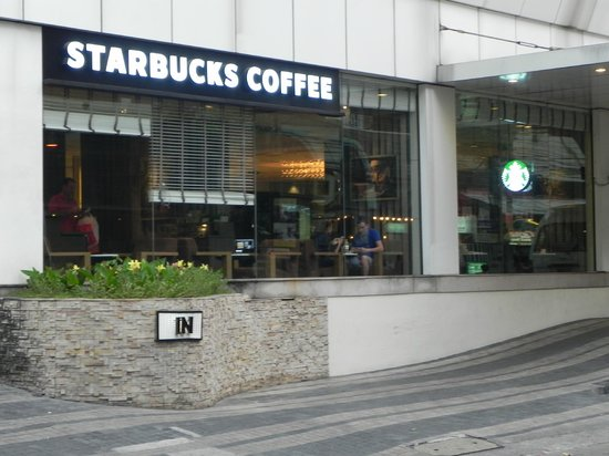 Smart Suites : Starbucks Just Up he Street!