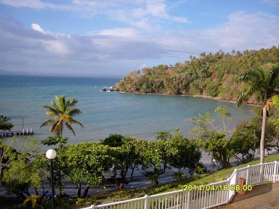 Grand Bahia Principe Cayacoa : vue de notre balcon