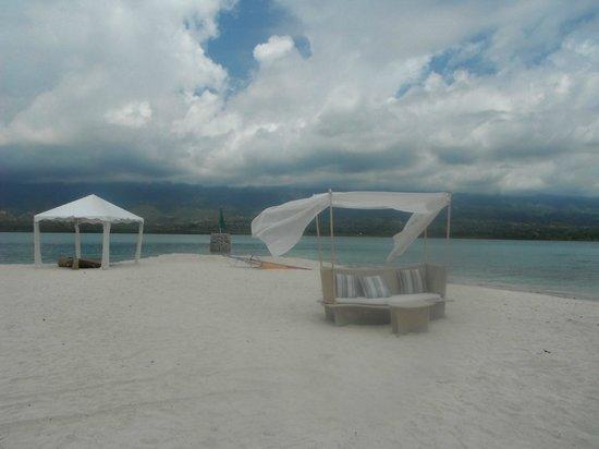 Badian Island Resort and Spa : beach