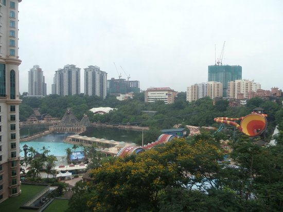 Sunway Resort Hotel & Spa : View of Lagoon