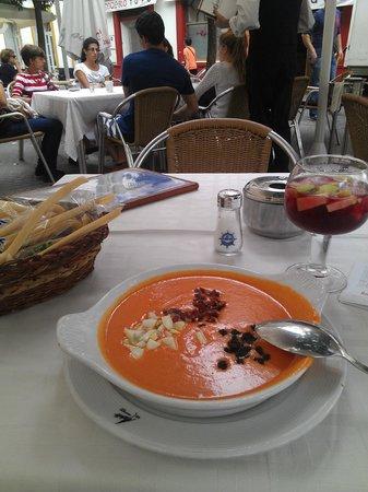 Modesto : Salmorejo with excellent taste
