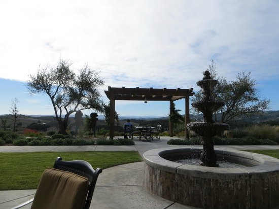 The Inn at Croad Vineyards : The view