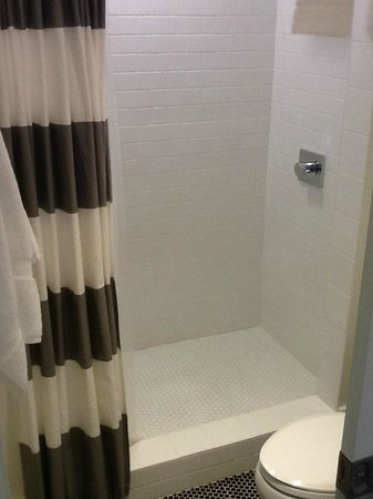 Beck's Motor Lodge: dreamy shower, loved the tile floor. Spotless.