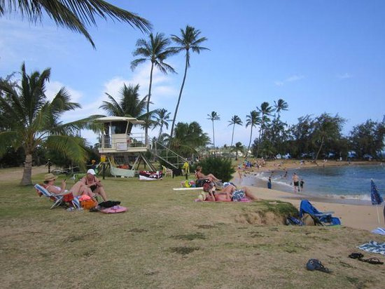 Poipu Plantation Resort: Poipu beach (5 minutes away)
