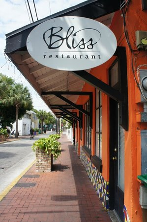 Bliss Restaurant Key West