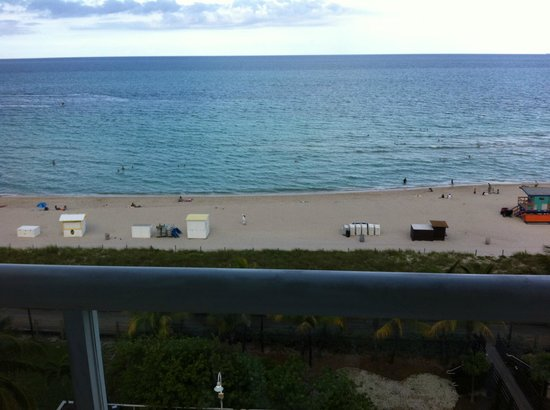 BEST WESTERN Atlantic Beach Resort: view from the balcony of oceanfront penthouse room