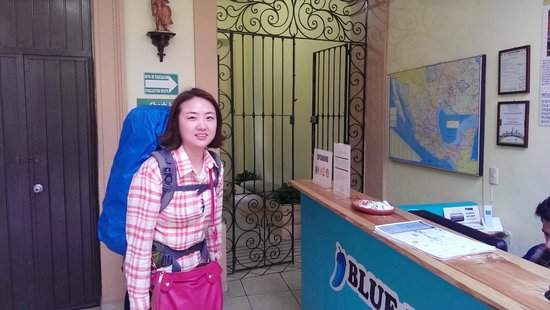 Blue Pepper Downtown Guadalajara: Warm reception