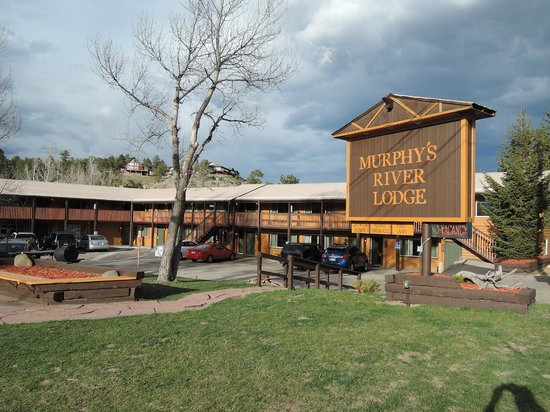 Murphy's River Lodge : Hotel is only a few blocks from downtown
