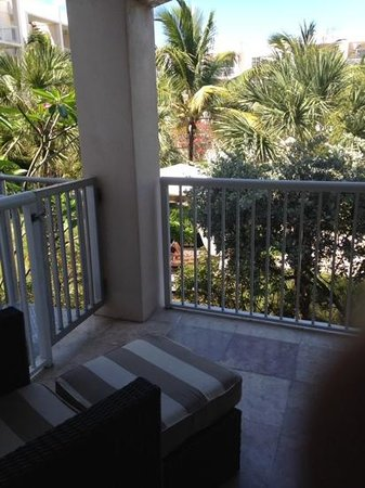 Key West Marriott Beachside Hotel: patio