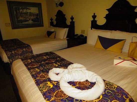 Disney's Port Orleans Resort - French Quarter : Our room