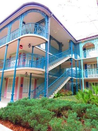 Disney's Port Orleans Resort - French Quarter : The resort