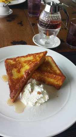 The Pavilions Phuket: The French Toast a must try!