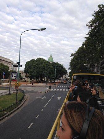 Buenos Aires Bus : Parte superior