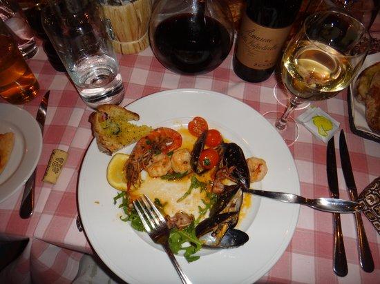 Sallys: seafood