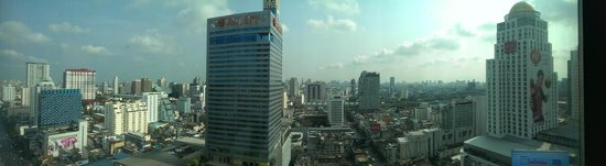 Novotel Bangkok Platinum Pratunam: view from room