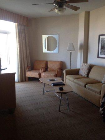 Wyndham Ocean Boulevard: Living room