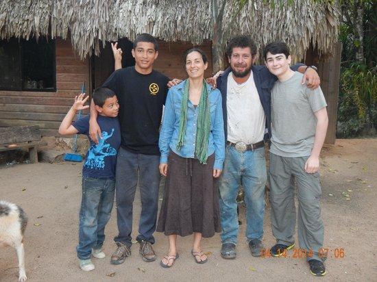 Martz Farm Treehouses and Cabanas Ltd.: Lucas, Evan, Miriam, Lazlo, Daniel
