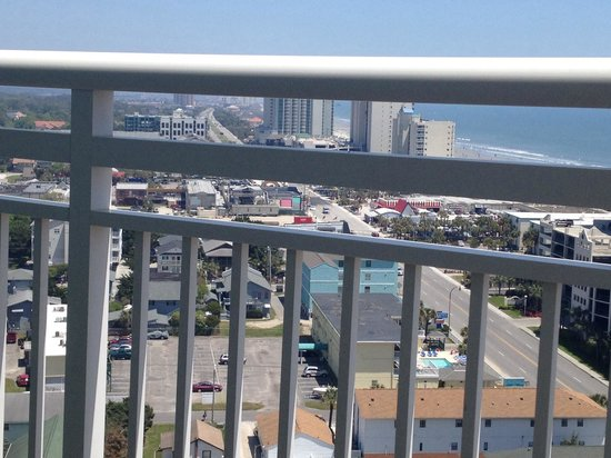 Wyndham Ocean Boulevard: View from my 12th fl balcony in tower 4