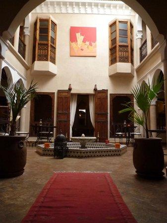 Riad Alwachma : 入り口からの景色