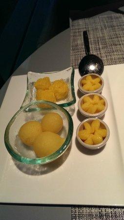 Novotel Bangkok Platinum Pratunam : and the dessert