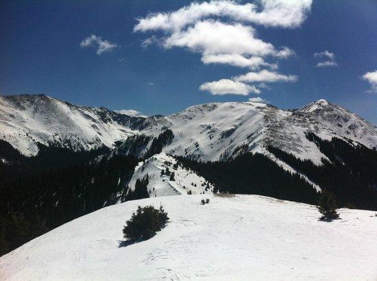 The Ridge on the way to Kachina Peak, Taos Ski Valley, NM