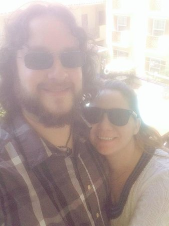 La Quinta Inn & Suites San Diego Old Town / Airport : Selfie from our balcony