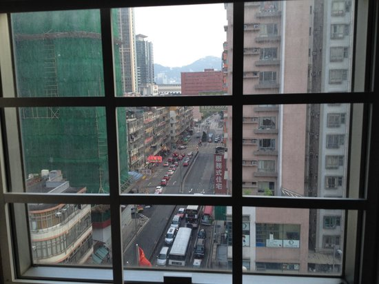 Bridal Tea House Hotel Hung Hom Gillies Road: Camera con vista