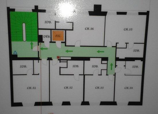 Hotel Britannique : FLOOR PLAN 3