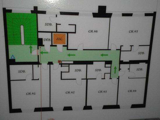 Hotel Britannique : FLOOR PLAN 2