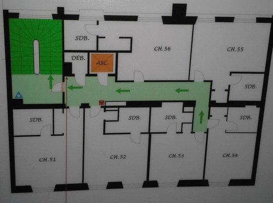 Hotel Britannique : FLOOR PLAN 5