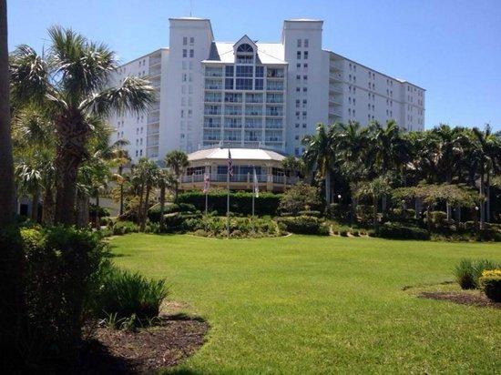 Sanibel Harbour Marriott Resort & Spa: Front ebtrance