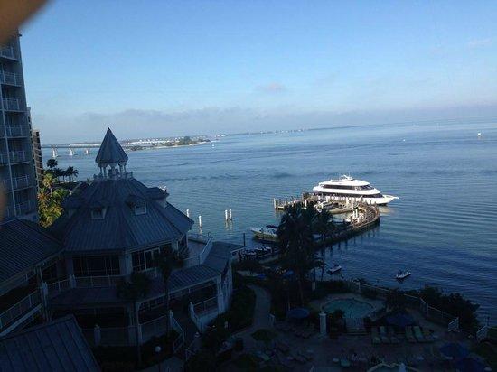 Sanibel Harbour Marriott Resort & Spa: view from the room