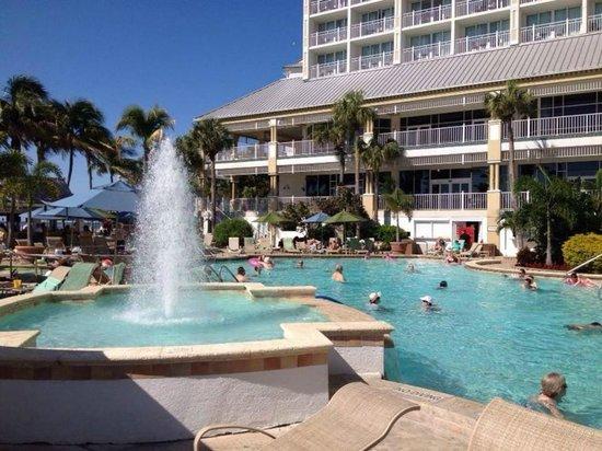 Sanibel Harbour Marriott Resort & Spa: Main Pool