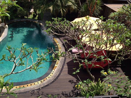 Lumbung Sari Cottages: The pool