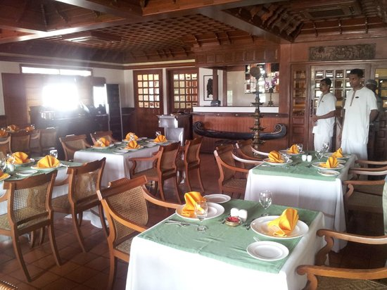 The Paul Bangalore: The Vembanad restaurant-Kerala decor