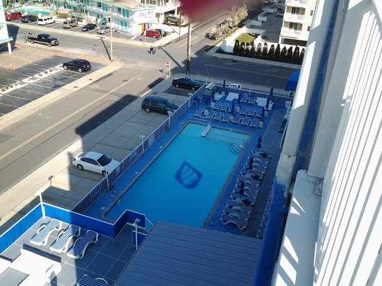 Adventurer Oceanfront Inn : from the balcony of the penthouse suite