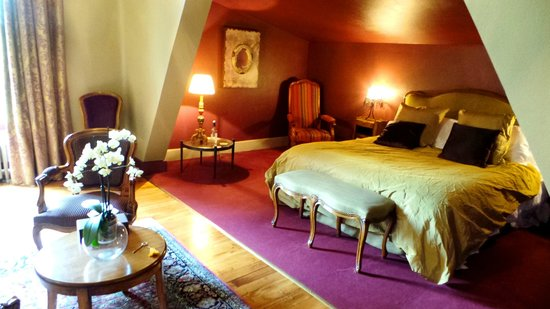 Manoir de la Malartrie : Our beautiful bedroom 'Castelnaud'
