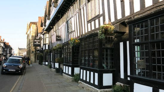 Mercure Stratford-Upon-Avon Shakespeare Hotel: MERCURE SHAKESPEARE ホテル外観